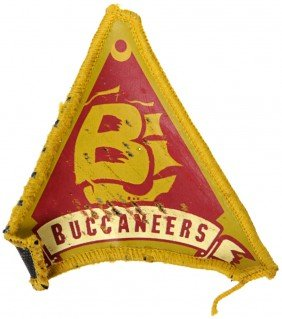 Battlestar Galactica Distressed Buccaneers Patch