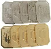 104: Battlestar Galactica metal Cubit Collection