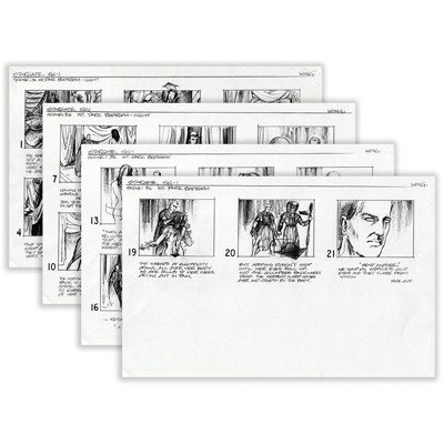2: Stargate SG-1 Pilot Host Selection Storyboards