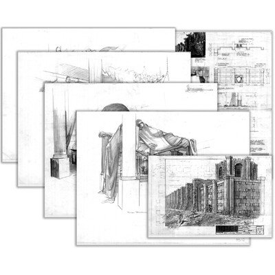 3: Chulak Blueprints and Concept Drawings