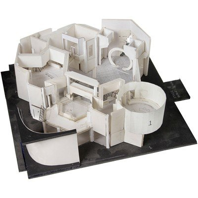 15: Atlantis Set Architectural Study Model