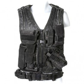 SGU Matthew Scott Black Tactical Vest