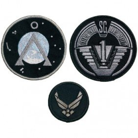 Cameron Mitchell's Hero Patches