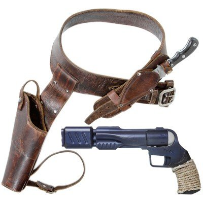 135: Ronon's Gun and Holster with Knife