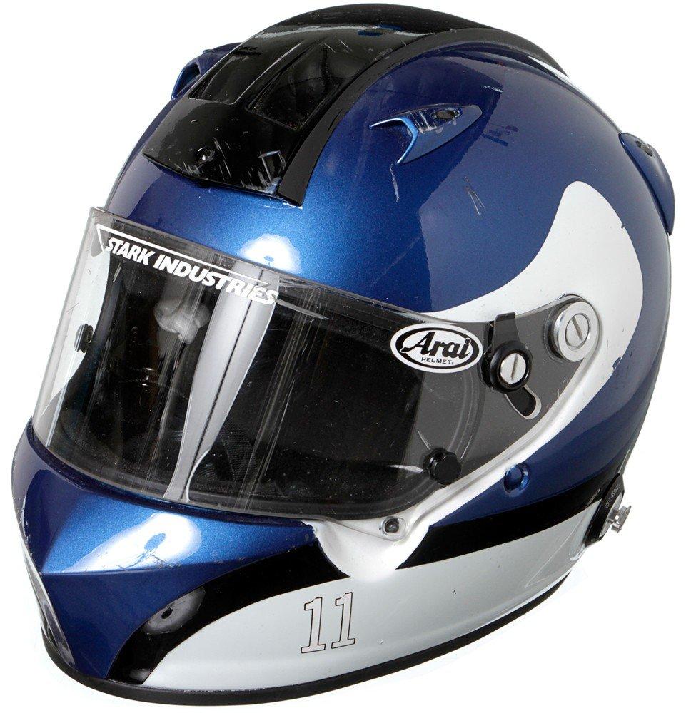60: Iron Man 2 Hero Tony Stark Racing Helmet