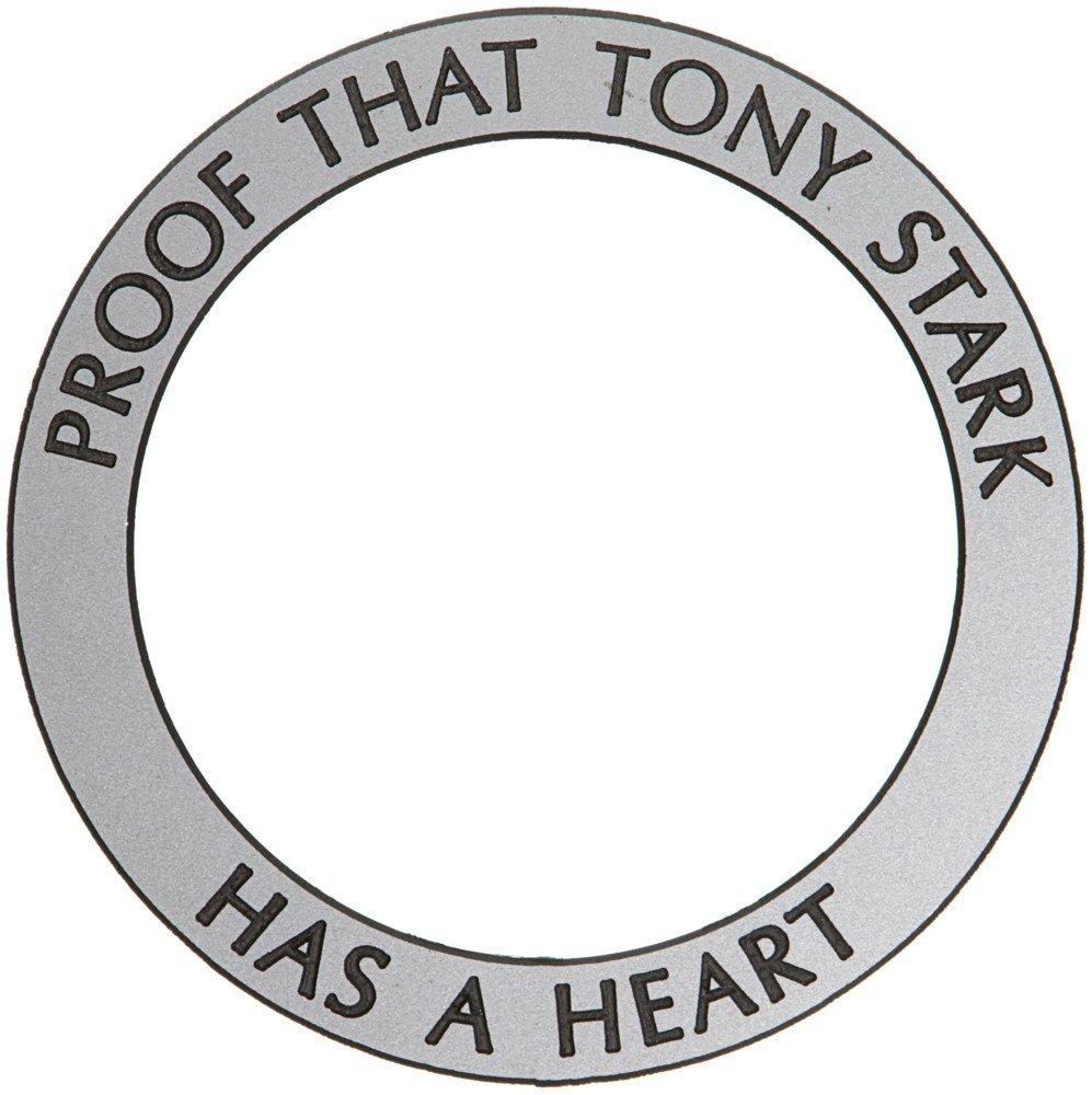 80: Iron Man Arc Reactor Proof Ring