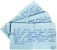 86: Iron Man Hero Cue Cards