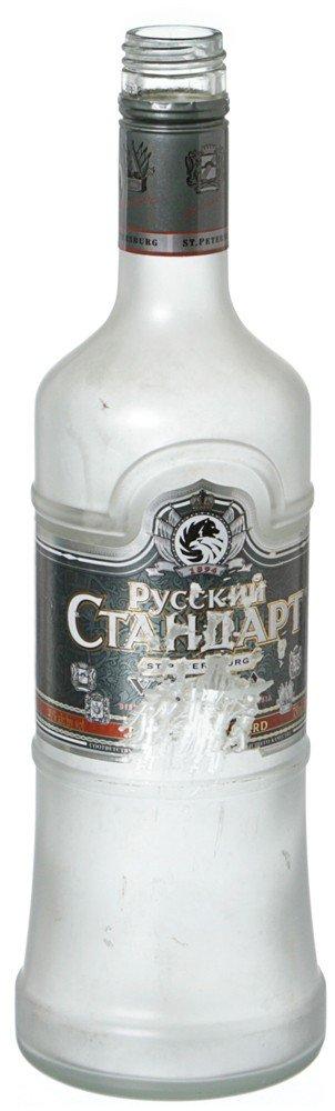 100: Iron Man 2 Ivan Vanko Hero Vodka Bottle