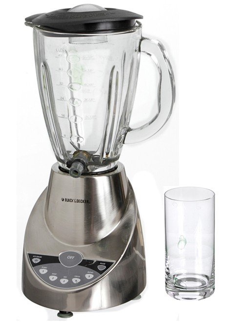 137: Iron Man 2 Tony Stark Blender & Glass