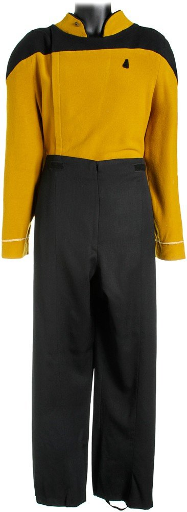 4: Star Trek: Generations Prototype Starfleet Uniform