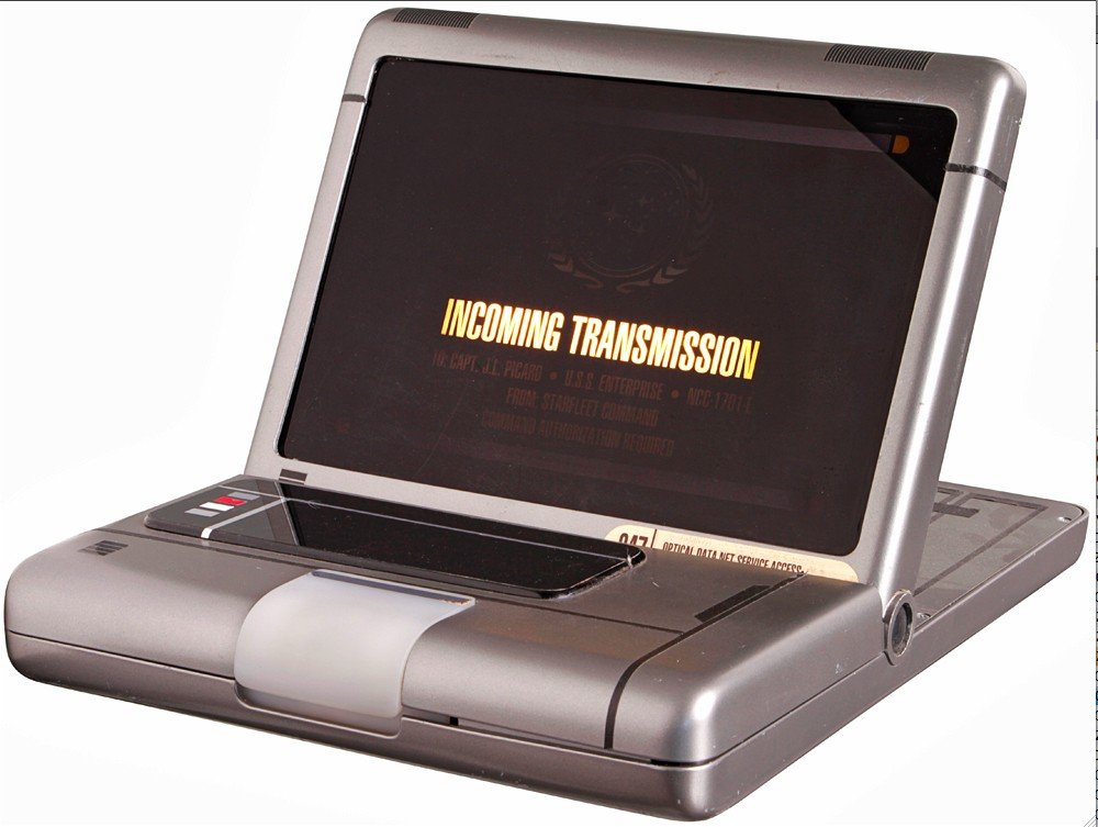 9: Star Trek: First Contact Picard's Hero Monitor