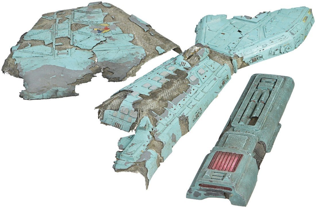 Star Trek: Deep Space Nine Destroyed Klingon Vor'cha