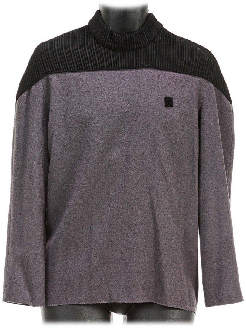 Star Trek: The Next Generation Captain Picard Gray Top