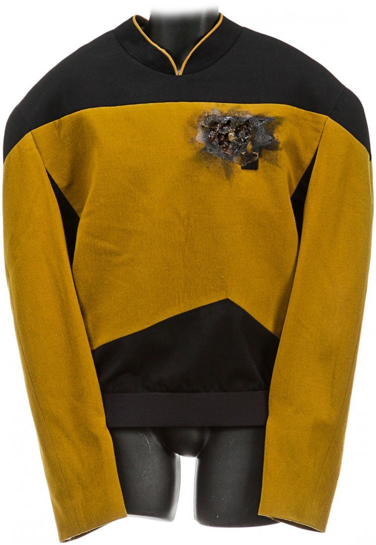 Star Trek: The Next Generation Worf Starfleet Uniform