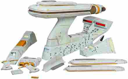 "Star Trek: TNG ""All Good Things"" Refit Model Miniature"