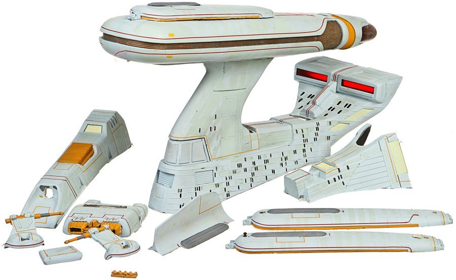 "Star Trek: TNG ""All Good Things"" Refit Model Miniature"