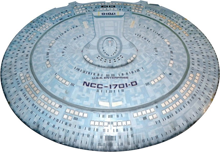 Star Trek: Generations U.S.S. Enterprise D Saucer