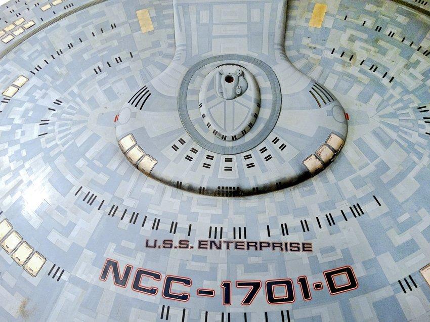 Star Trek: Generations U.S.S. Enterprise D Saucer - 2
