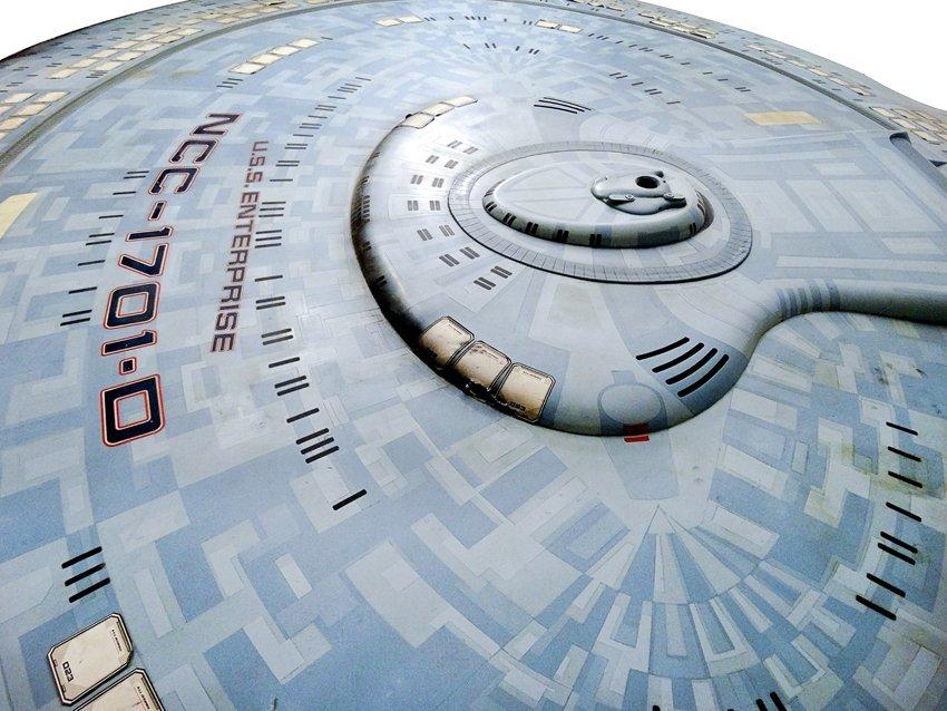 Star Trek: Generations U.S.S. Enterprise D Saucer - 3