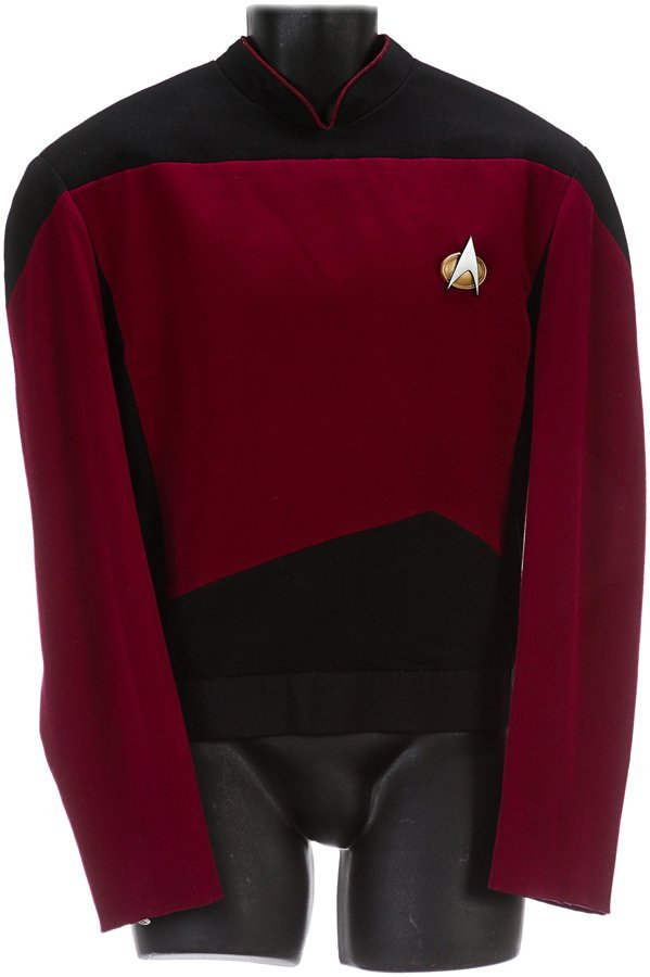 Star Trek: The Next Generation Commander Riker Tunic