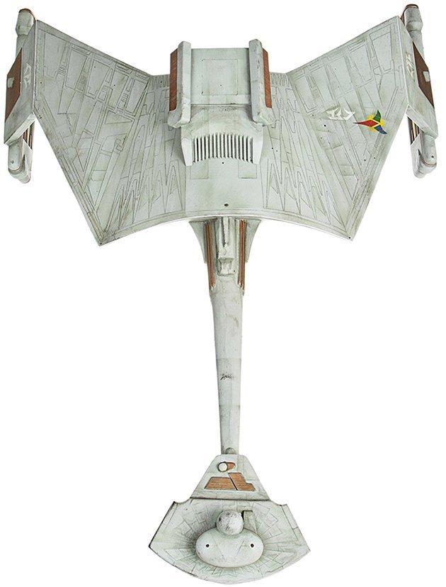 Star Trek: Deep Space Nine Klingon Warbird Miniature - 3