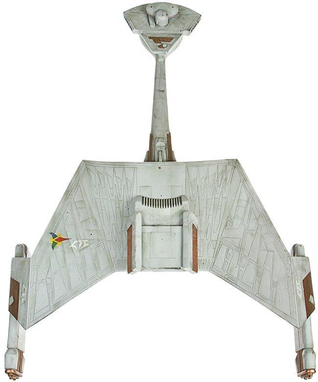 Star Trek: Deep Space Nine Klingon Warbird Miniature - 4