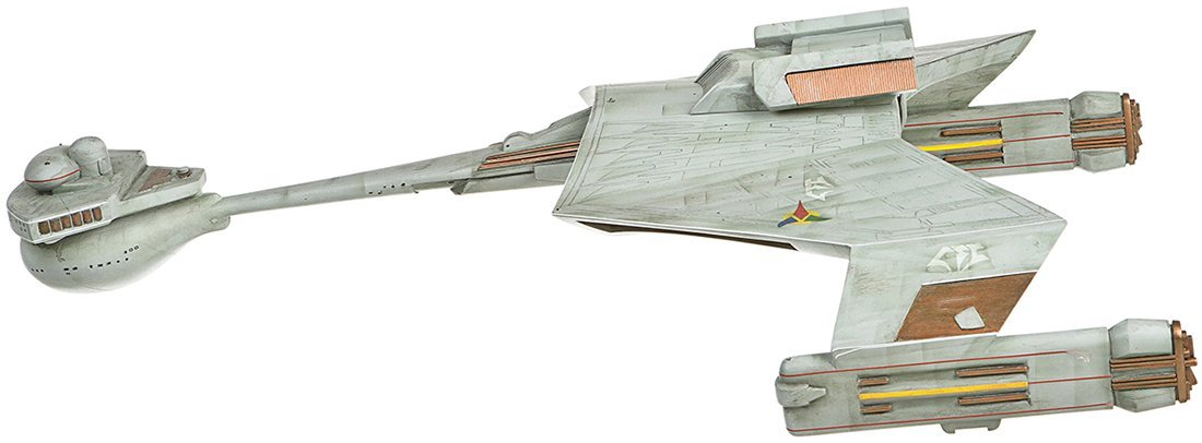 Star Trek: Deep Space Nine Klingon Warbird Miniature - 5