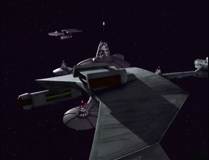Star Trek: Deep Space Nine Klingon Warbird Miniature - 6