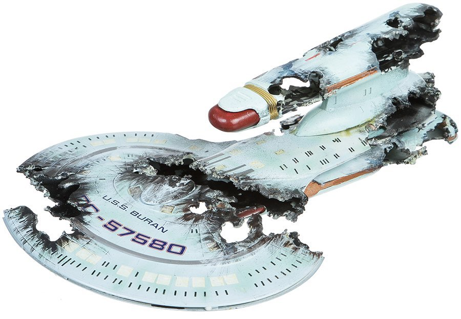Star Trek: The Next Generation U.S.S. Buran Miniature