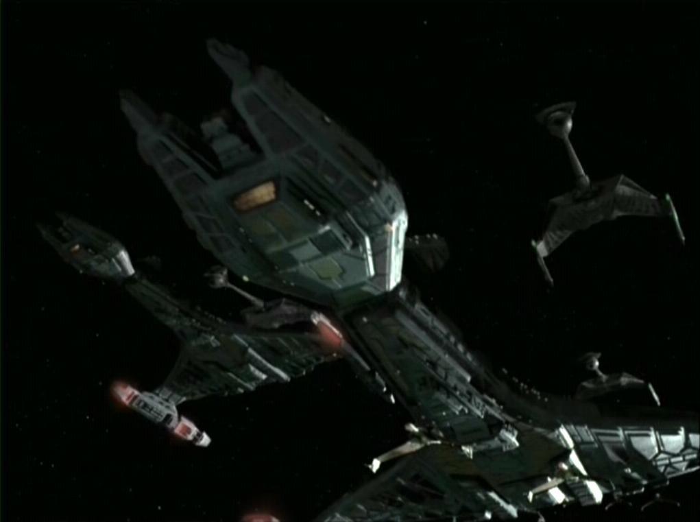 Star Trek: Deep Space Nine Klingon Battle Cruiser - 5