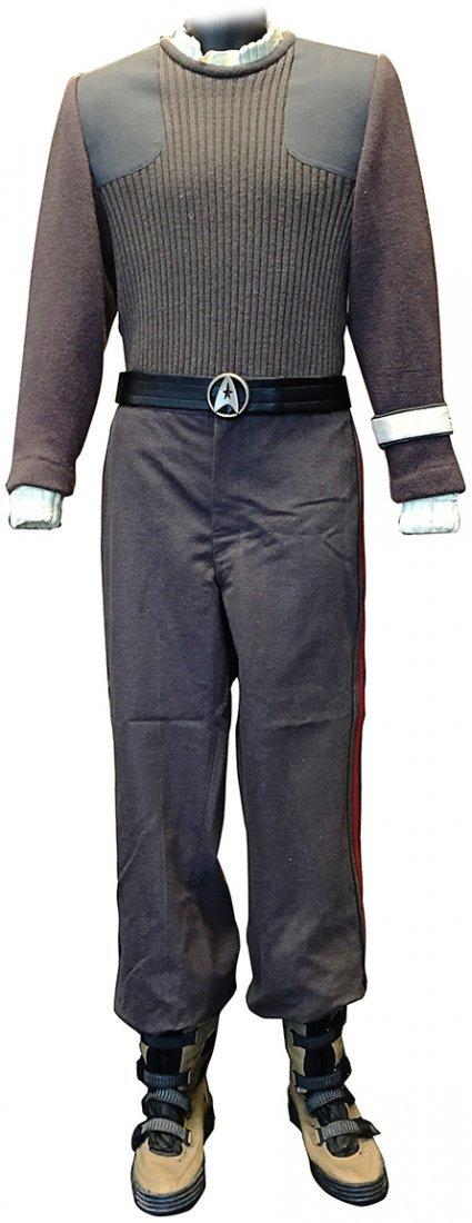 Star Trek: The Final Frontier Captain Kirk Uniform
