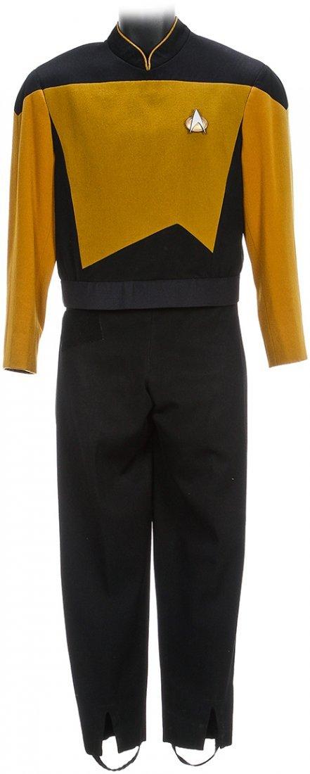 Star Trek: Generations Geordi La Forge Starfleet