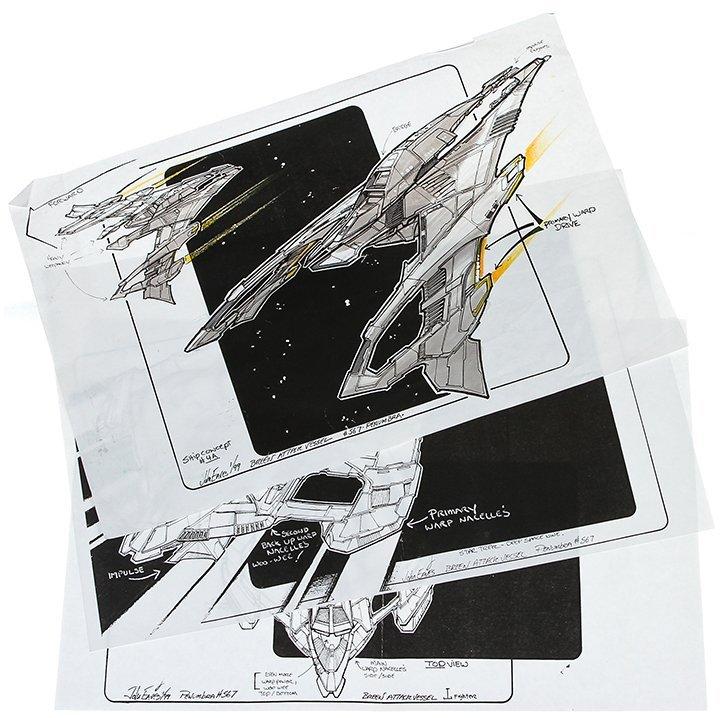 Star Trek: Deep Space Nine Breen Attack Vessel Concept