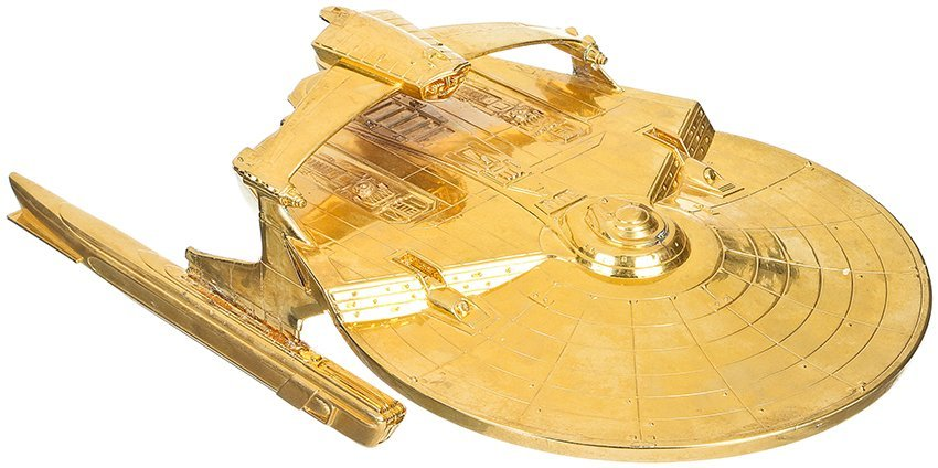 Star Trek: Nemesis Gold Reliant Model Miniature