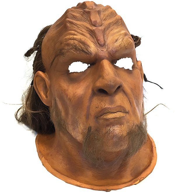 Star Trek: The Undiscovered Country Klingon Head Mask