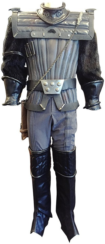 Star Trek: Deep Space Nine Klingon Warrior Costume