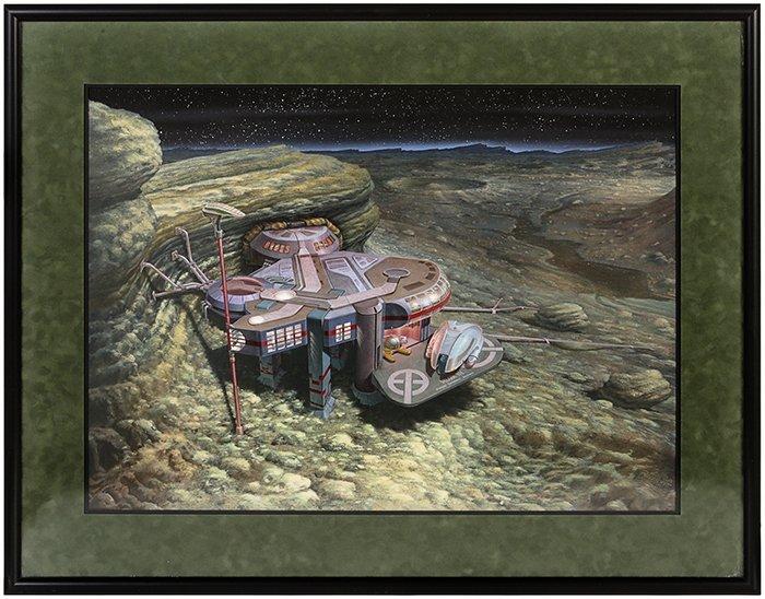 Star Trek: The Next Generation Velara III Matte