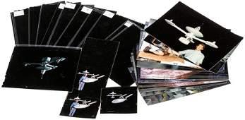 Star Trek K7 Space Station Photograph  Negative Set