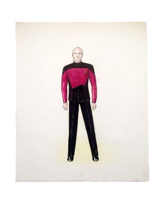 Star Trek: TNG Captain Picard Concept Illustration