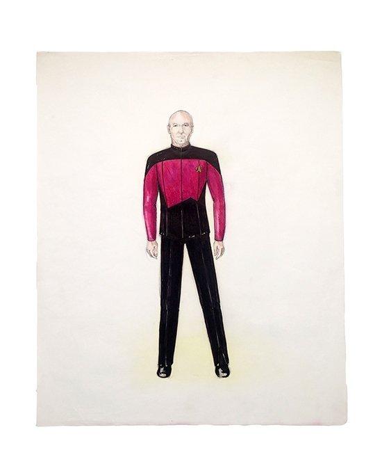 Star Trek: TNG Captain Picard Concept Illustration