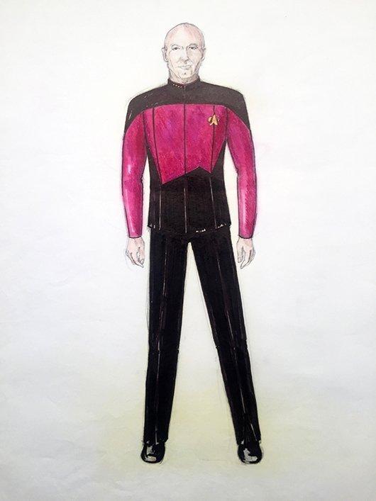 Star Trek: TNG Captain Picard Concept Illustration - 3