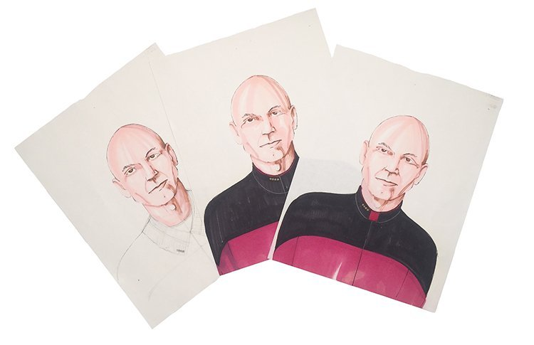 Star Trek: TNG Picard Concept Uniform Collar Concept