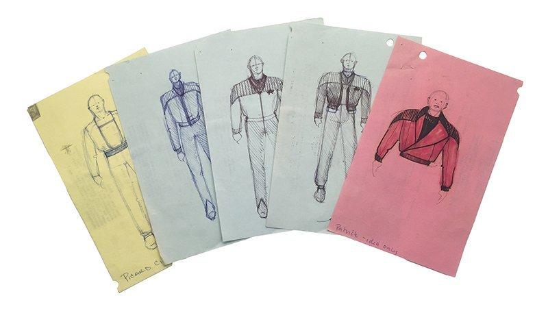 Star Trek: TNG Captain Picard Alternate Wear Concept