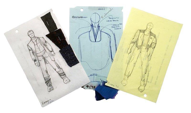 Star Trek: TNG Commander Riker Alternate Wear Concept