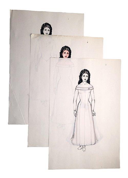 Star Trek: TNG Deana Troi Original Concept Collection