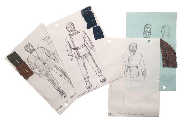 Star Trek: TNG Worf Original Concept Artwork Collection