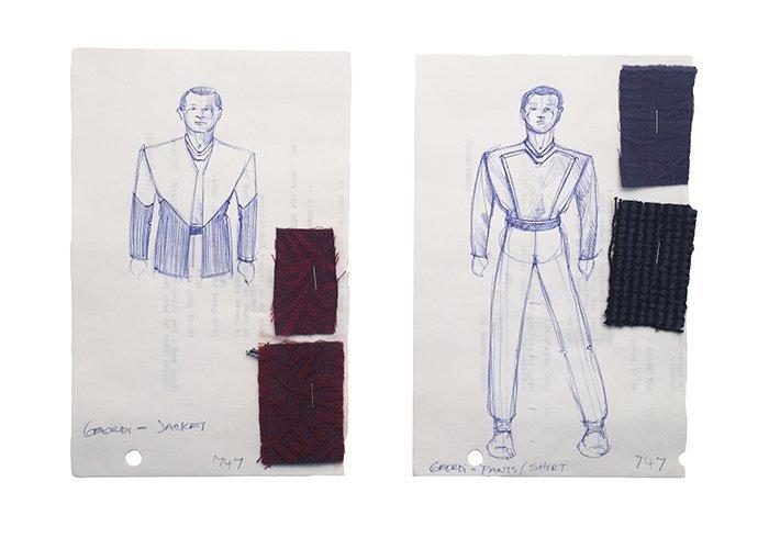 Star Trek: TNG Geordi La Forge Civillian Wear Concept