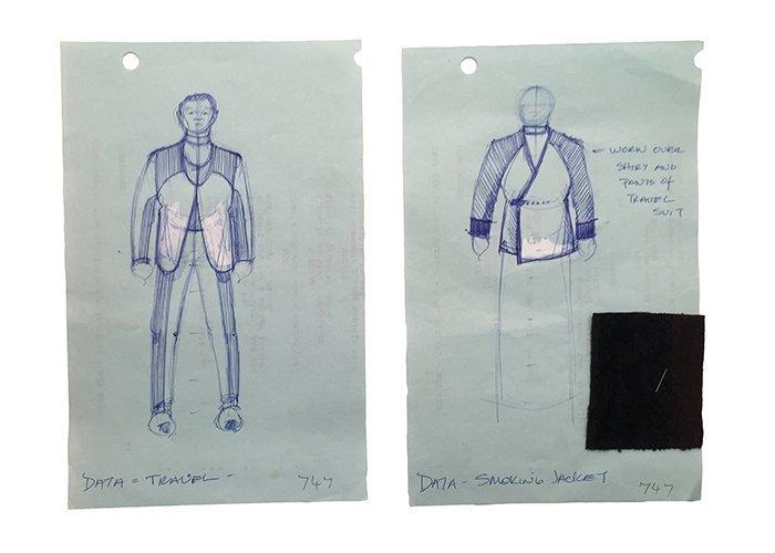 Star Trek: TNG Data Original Concept Artwork Collection
