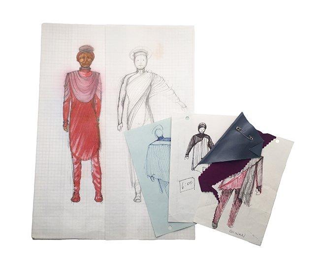 Star Trek: TNG Guinan Original Concept Art Collection