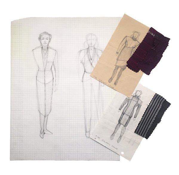 Star Trek: TNG Leah Brahms Original Concept Artwork Set